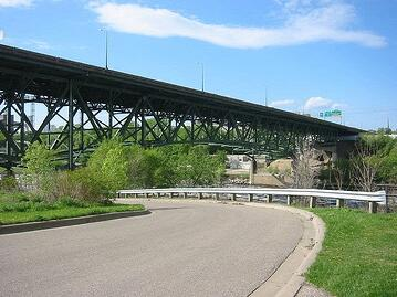 Minneapolis steel truss bridge 2006