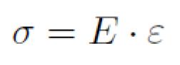 hooke's law equation