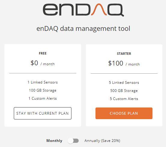 endaq-cloud-vibration-monitoring-pricing